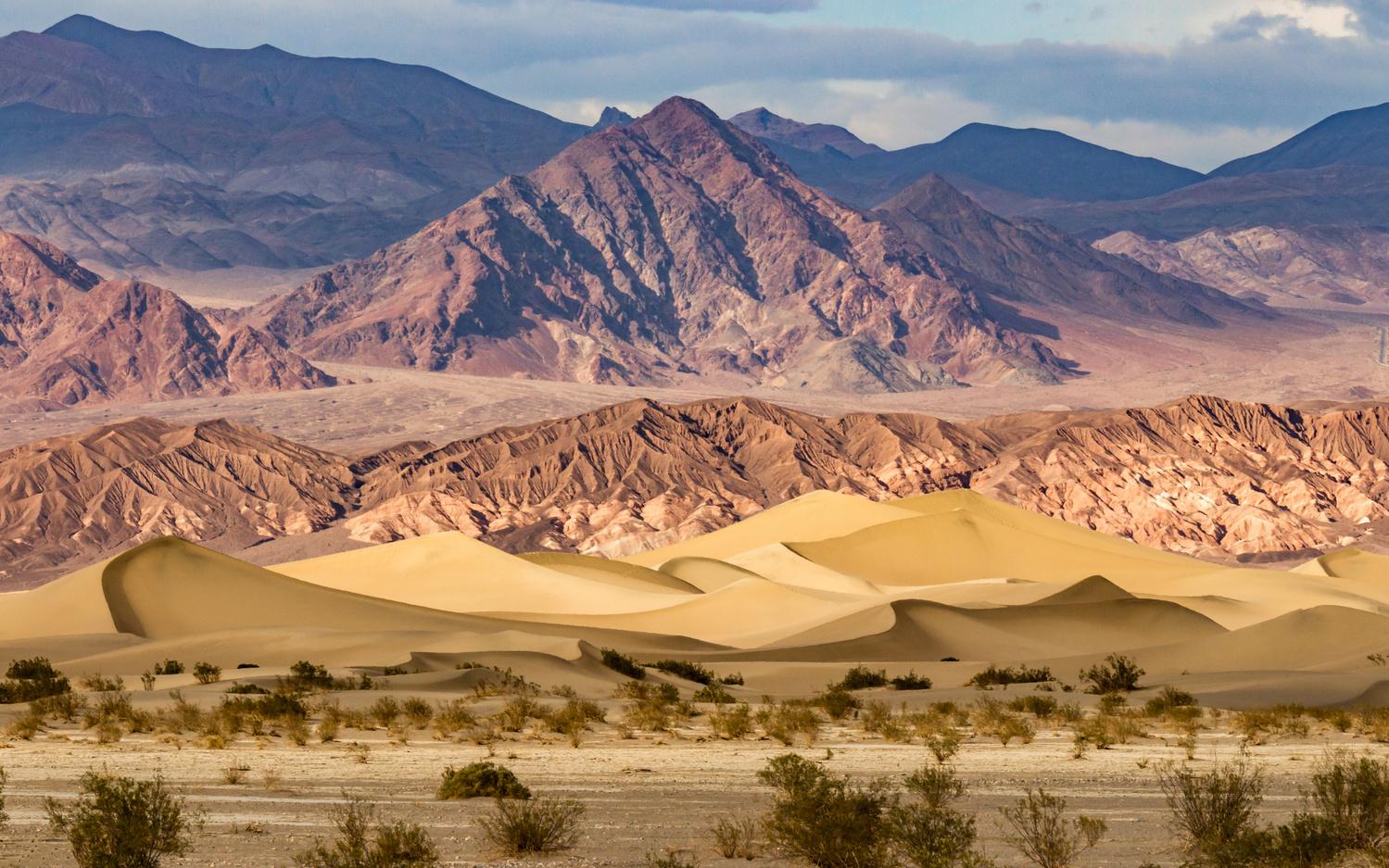 Mesquite Flat Sand Dunes by Cliff Mueller