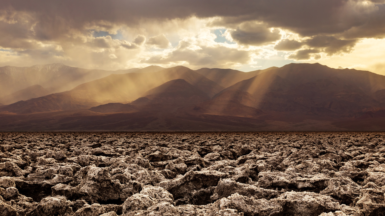Devil's Golf Course in Death Valley National Park by Cliff Mueller