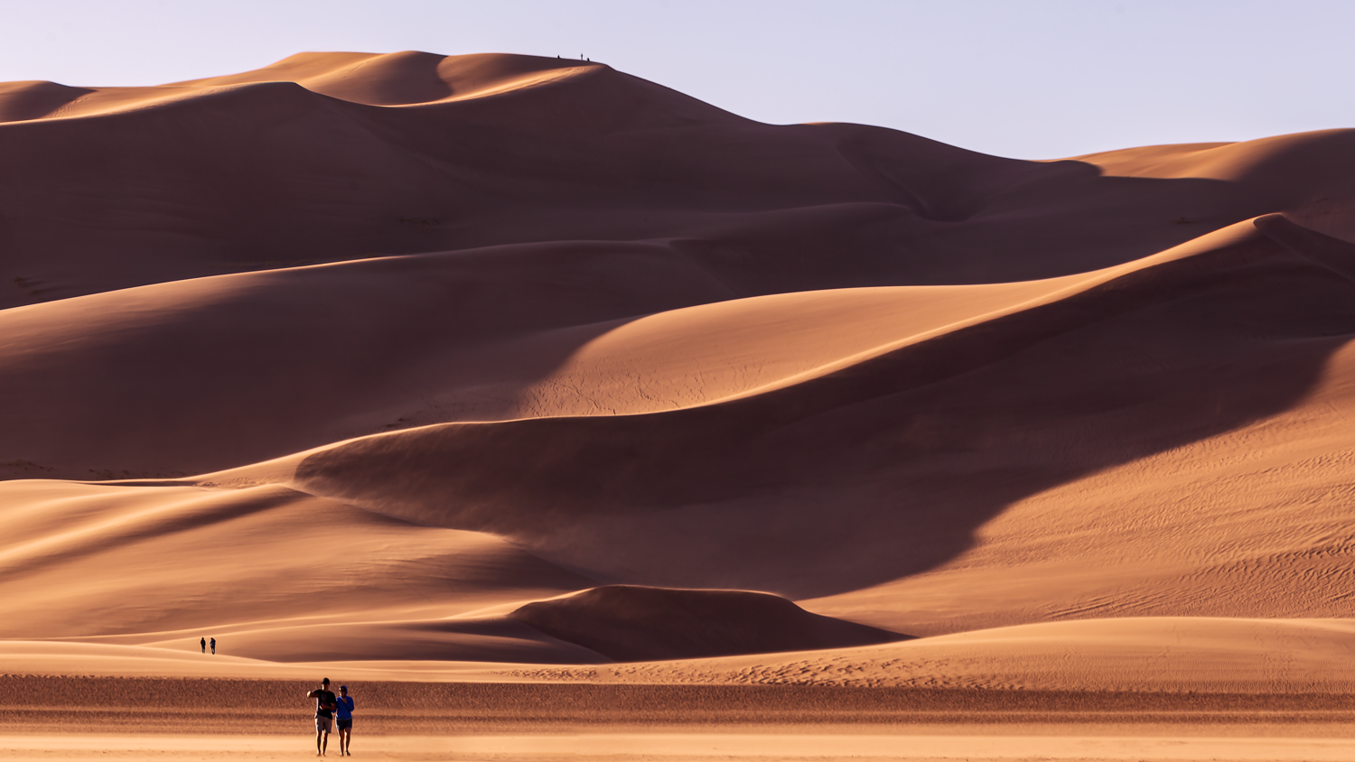 Hiking the Great Dunes by Cliff Mueller