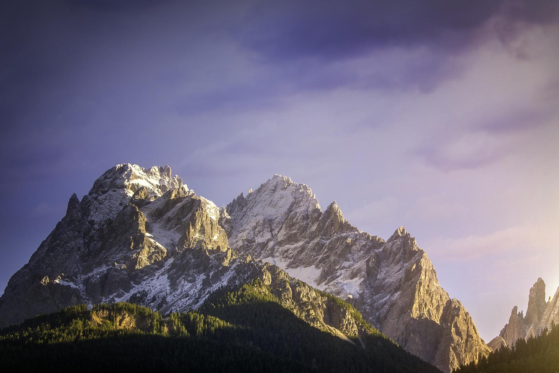 The Italian Alps by Andrei Barbier