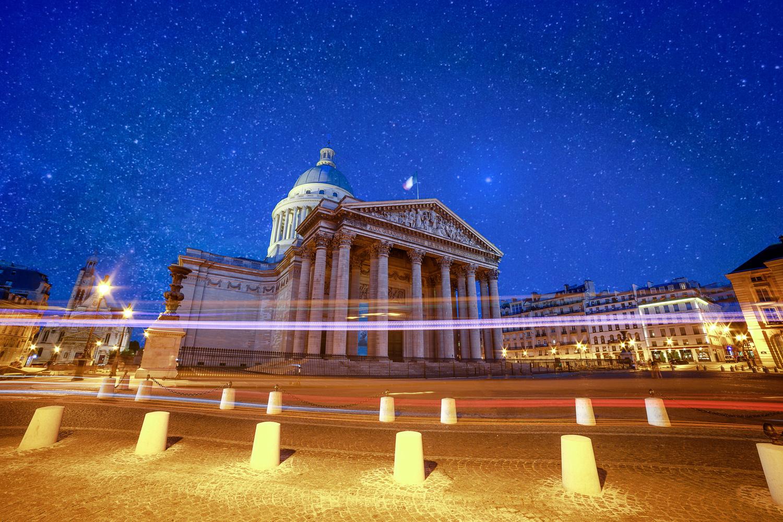 Pantheon at night by ARNAUD HUYGENS