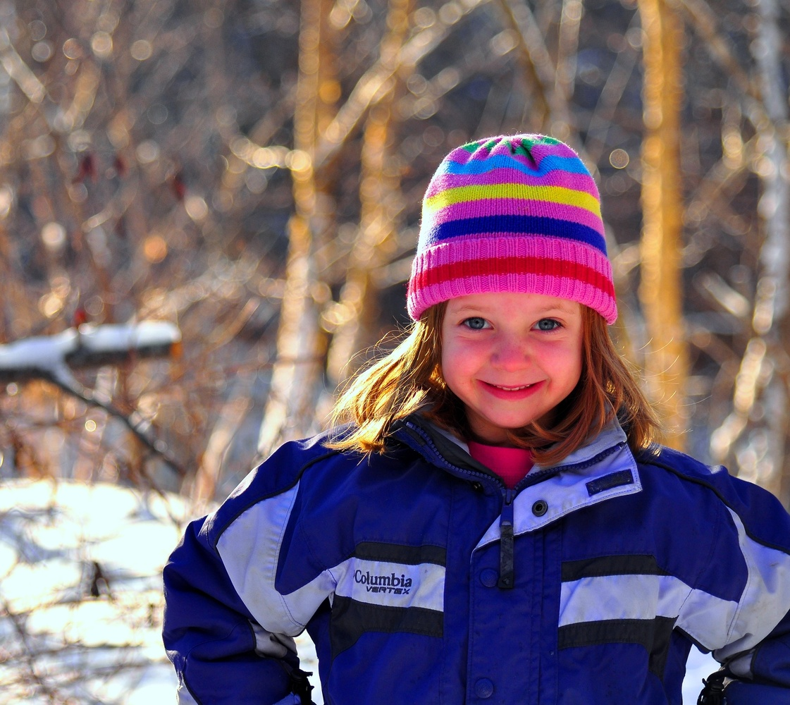 Winter Portrait by Lee Stirling