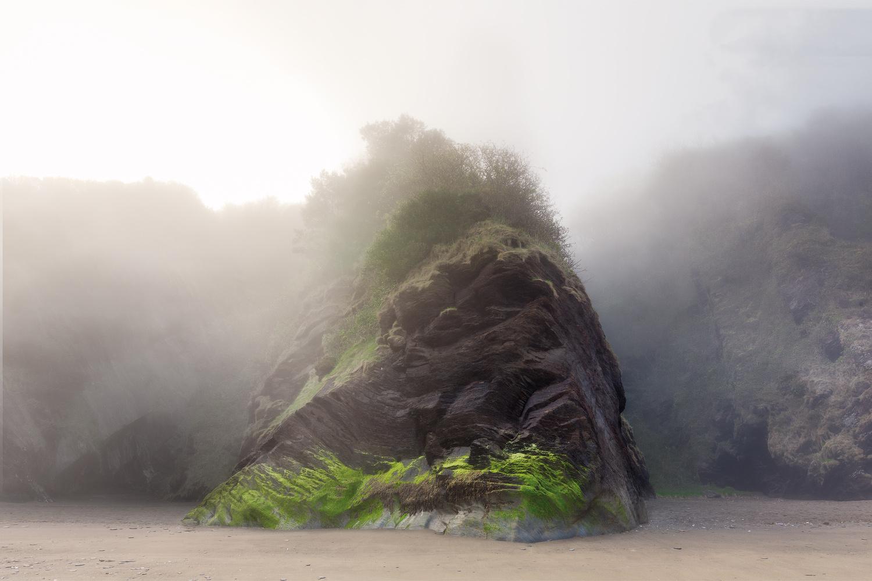 The Behemoths of Broadstrands Beach 1/2 by Jason Brown