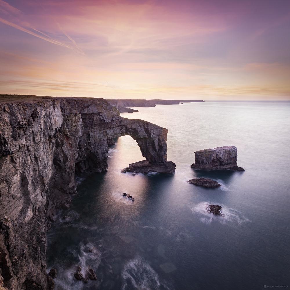 Green Bridge of Wales by Jason Brown