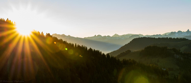 Rigi-Kulm, Luzern, Switzerland by Mo Moghaddas