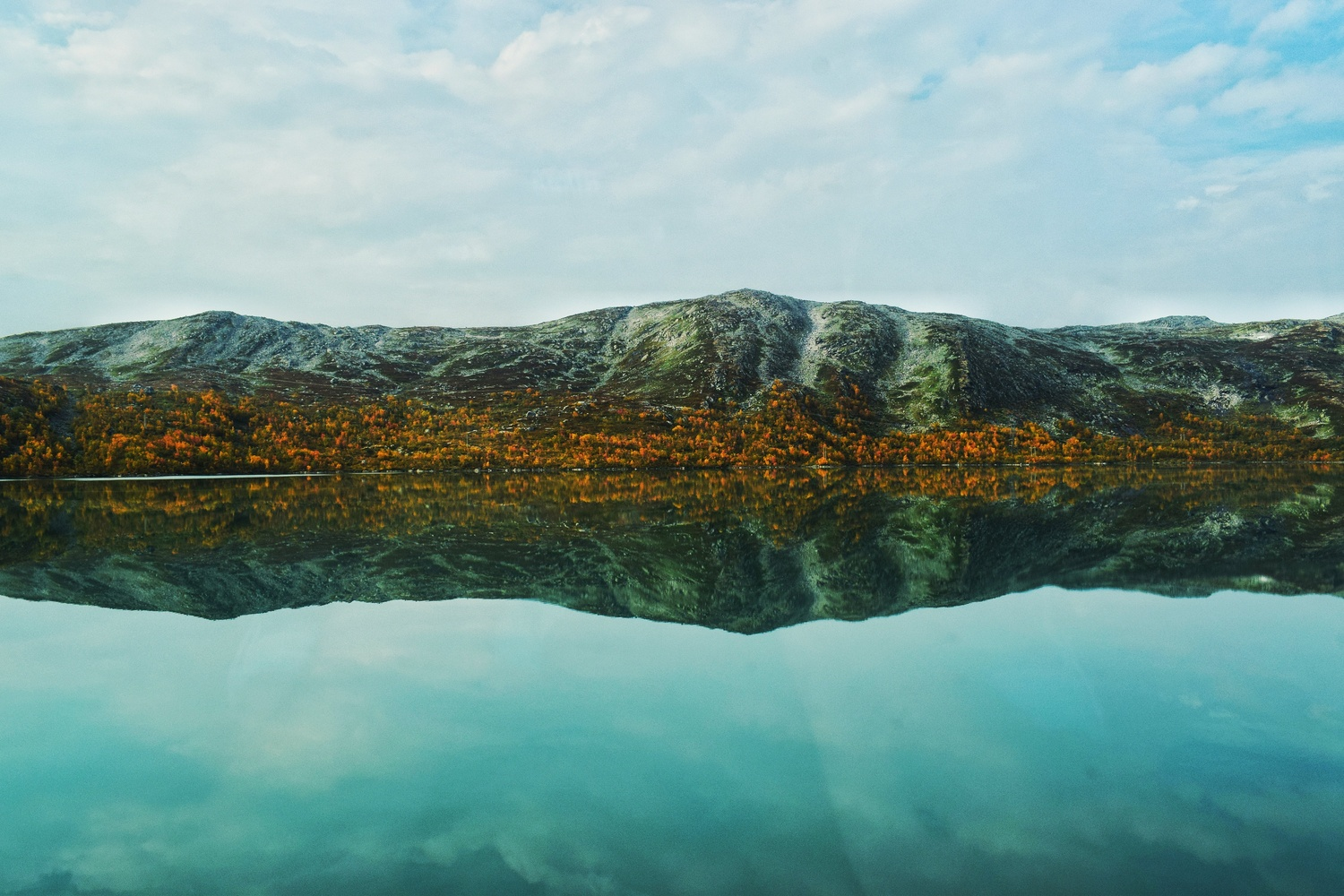 Norway Reflection... by Mo Moghaddas