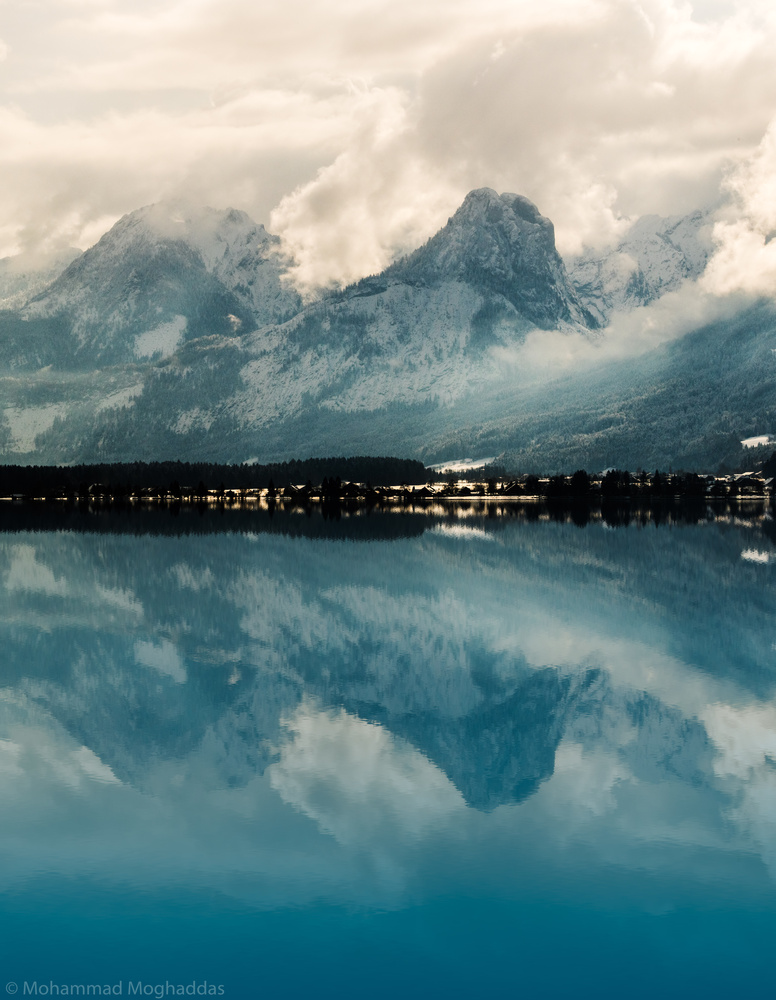 Salzkammergut and its reflections by Mo Moghaddas