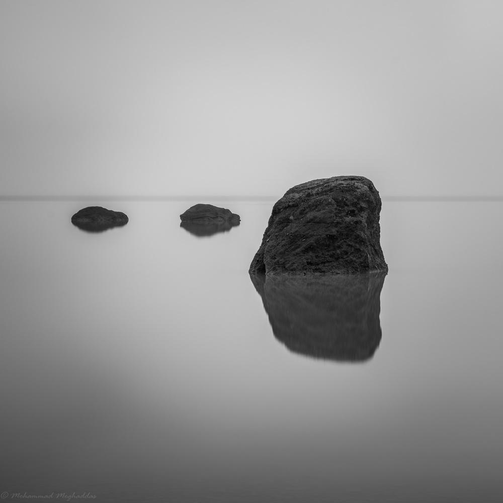 Peaceful rocks by Mo Moghaddas