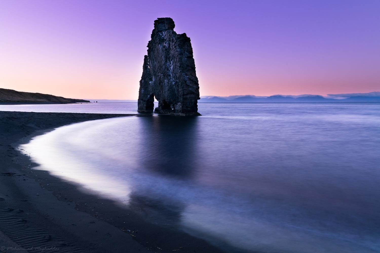 The majestic Hvítserkur Sea Stack by Mo Moghaddas
