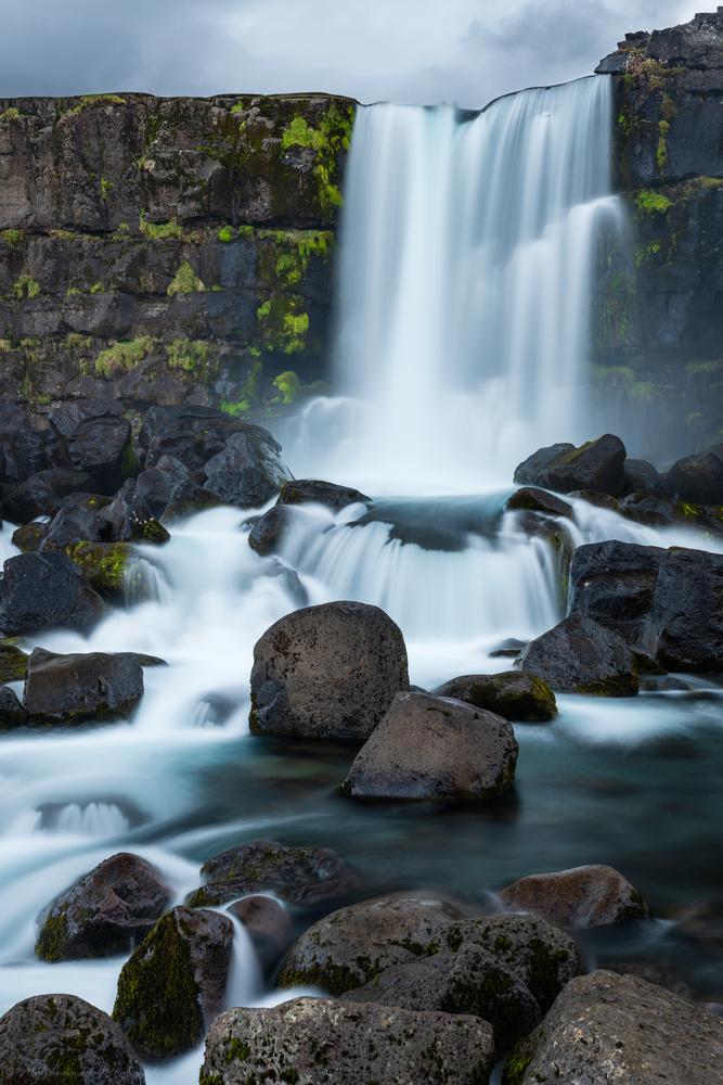 Öxarárfoss waterfall in Iceland by Mo Moghaddas