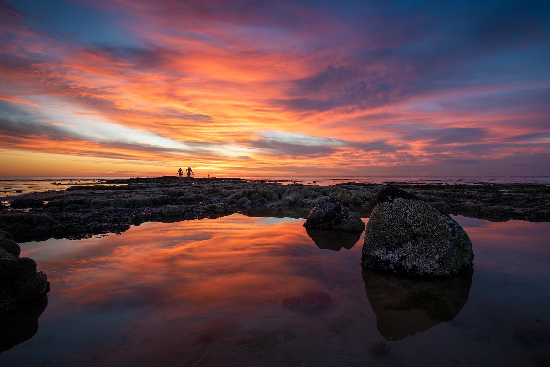 Brighton Summer Sunset by Donald Yip