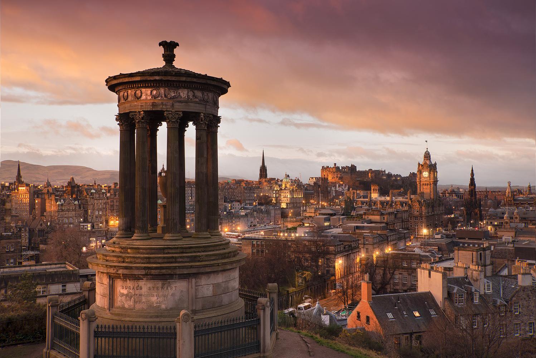 Edinburgh Slumber by Donald Yip