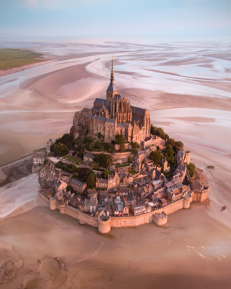 Magnificent Mont-Saint Michel by Donald Yip