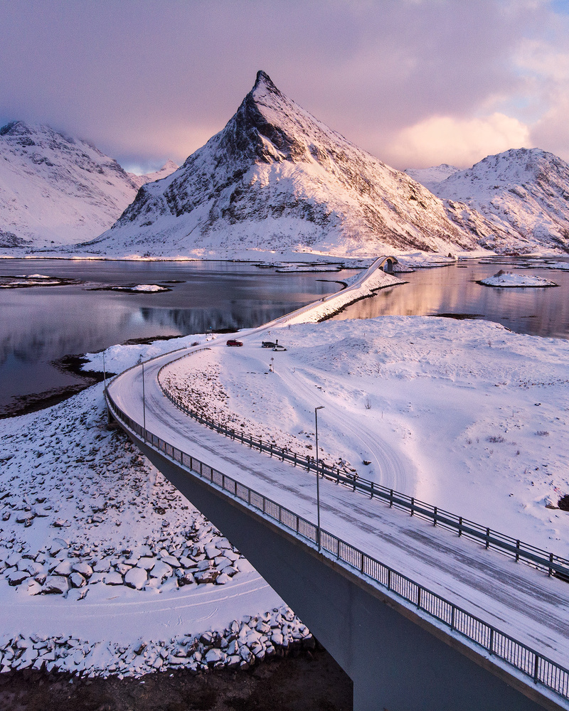 Bridge to Lofoten I by Donald Yip