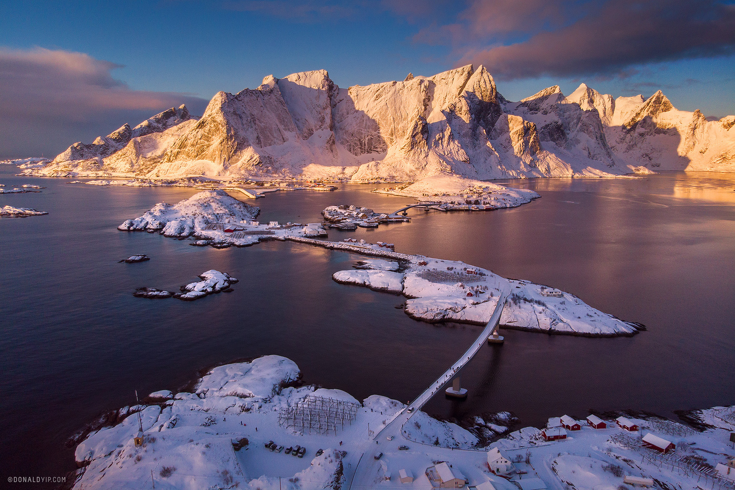 Lofoten Sunrise by Donald Yip