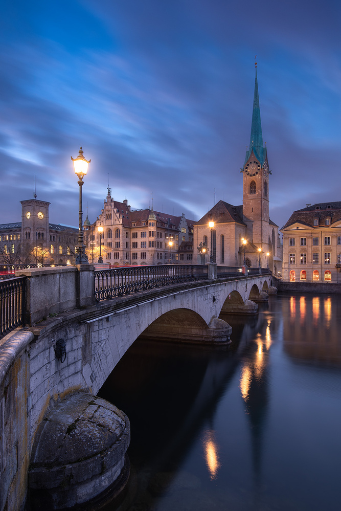 Zurich City Blues by Donald Yip