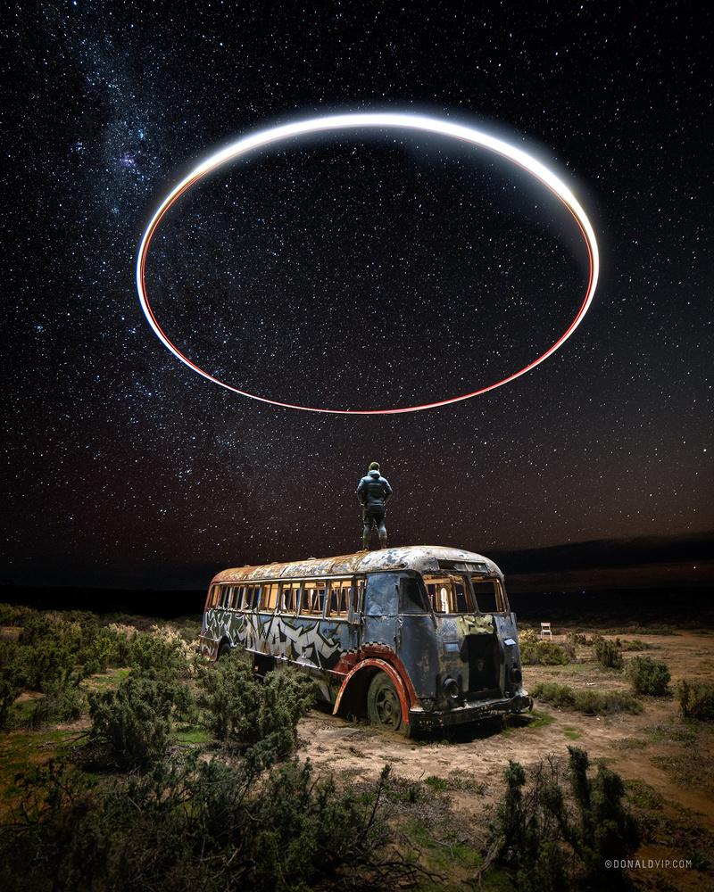 Desert Lights by Donald Yip