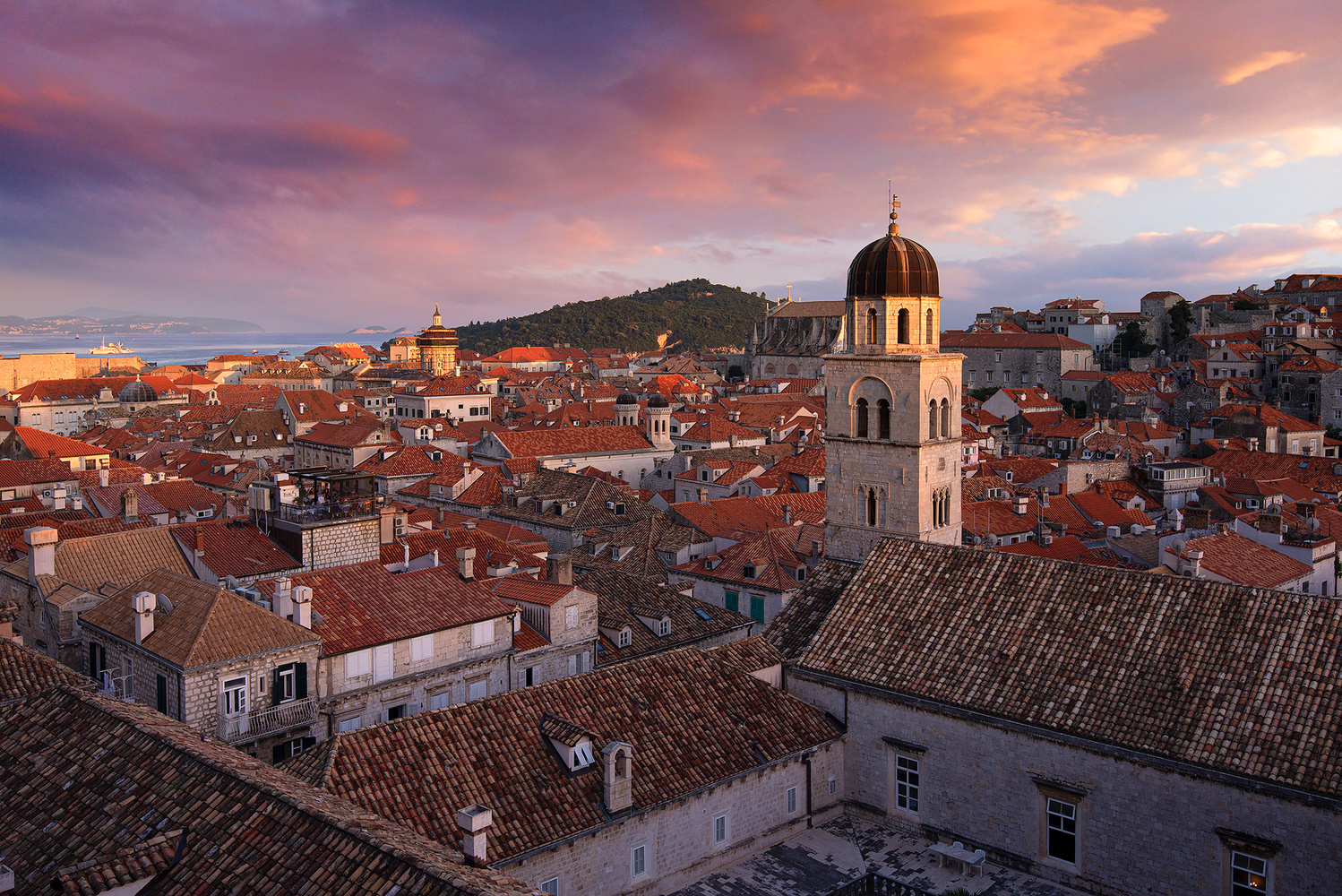 Dusk in Dubrovnik by Donald Yip