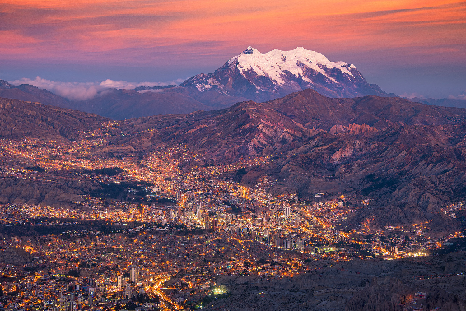 View to Illimani by Donald Yip