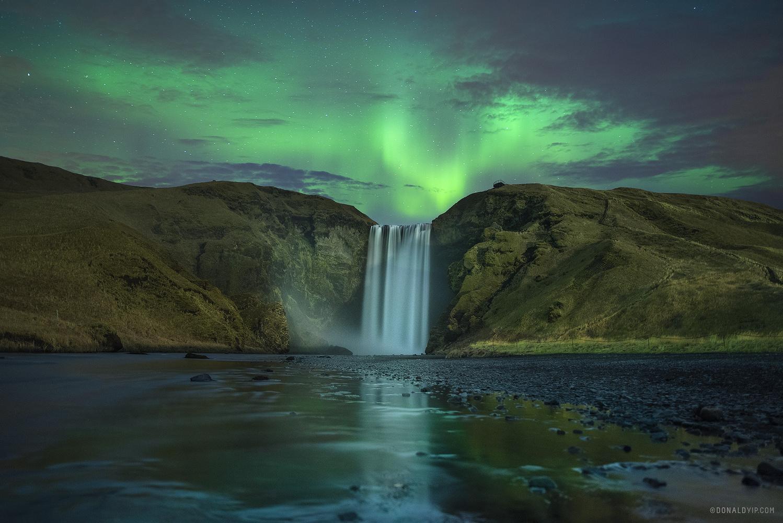 Spirits of Skogafoss by Donald Yip