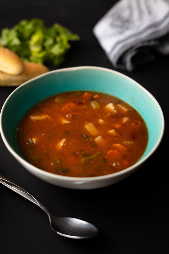Homemade Soup & Bread - Photo by Austin Kohler by Austin Kohler
