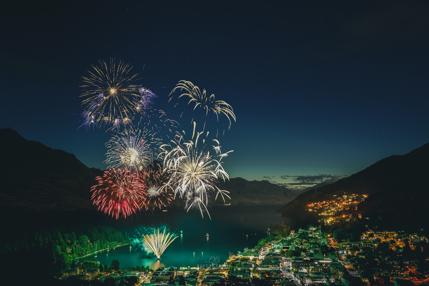 Queenstown New Years by Dakota Brown