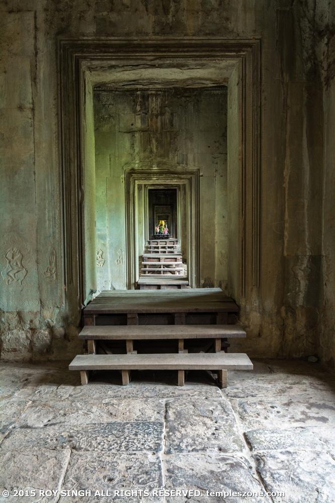 Angkor Wat Temple 015 by Roy Singh