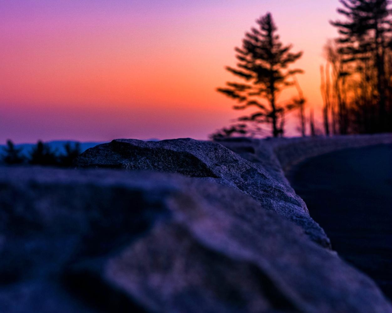 Blue Ridge Parkway Sunset by Tanner Goodman