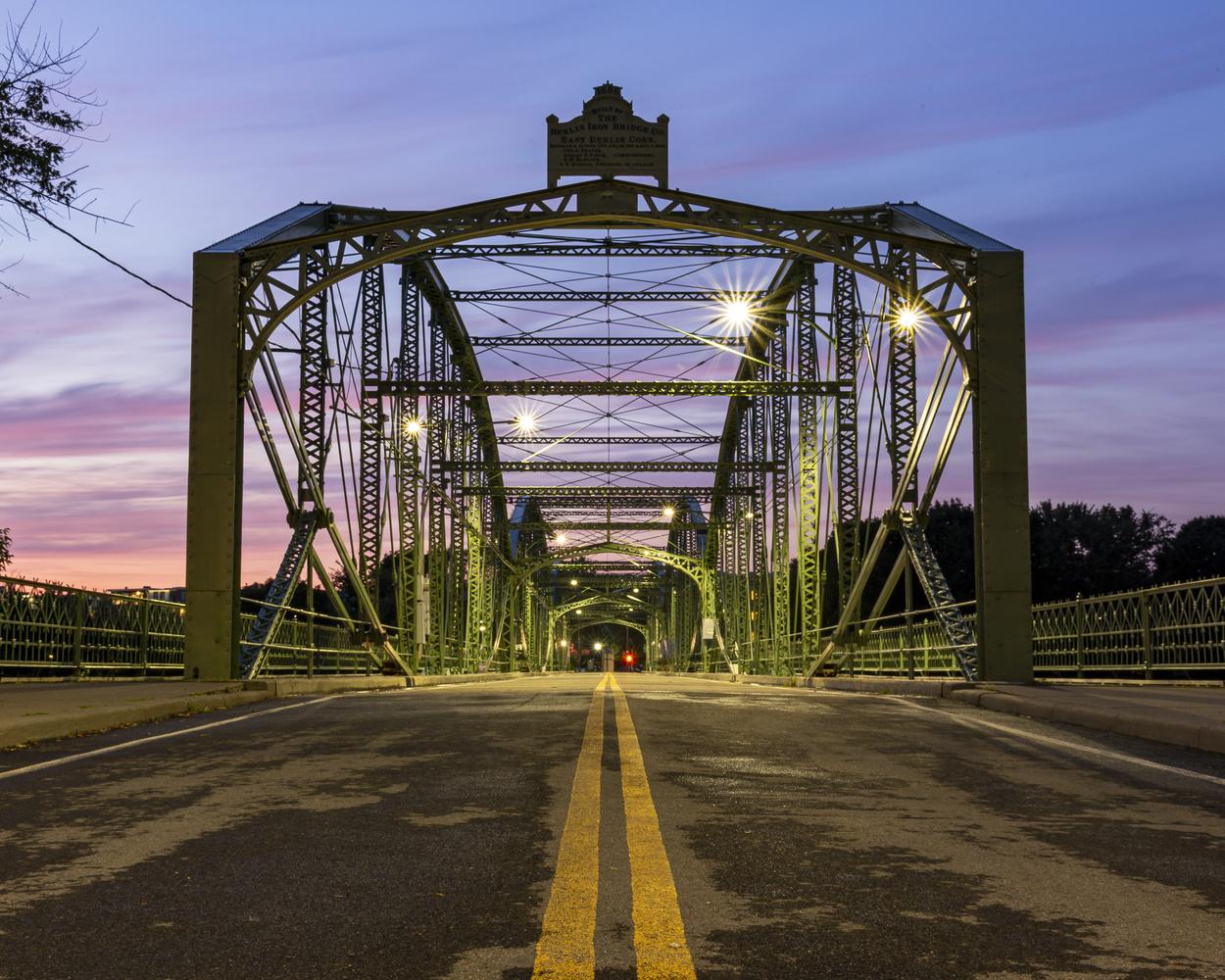 Washington ST Bridge by Greg Milunich