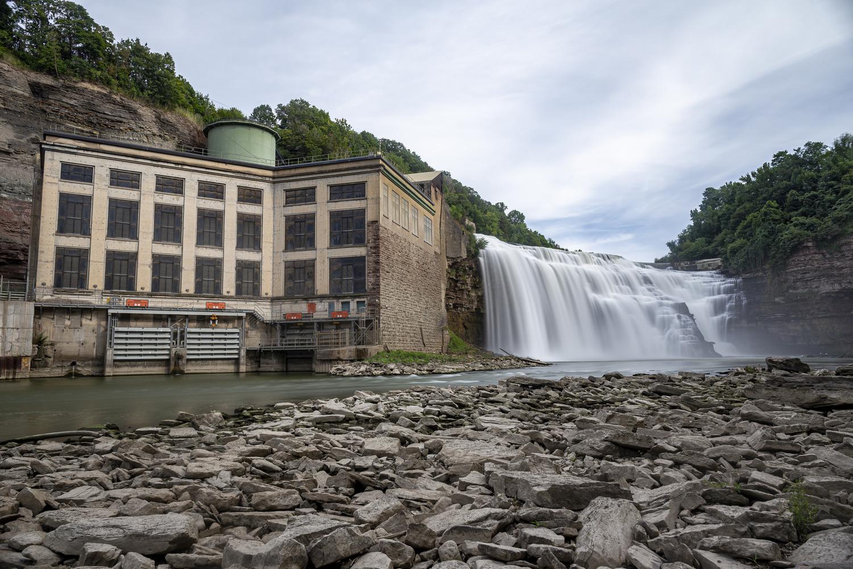 Lower Falls by Greg Milunich