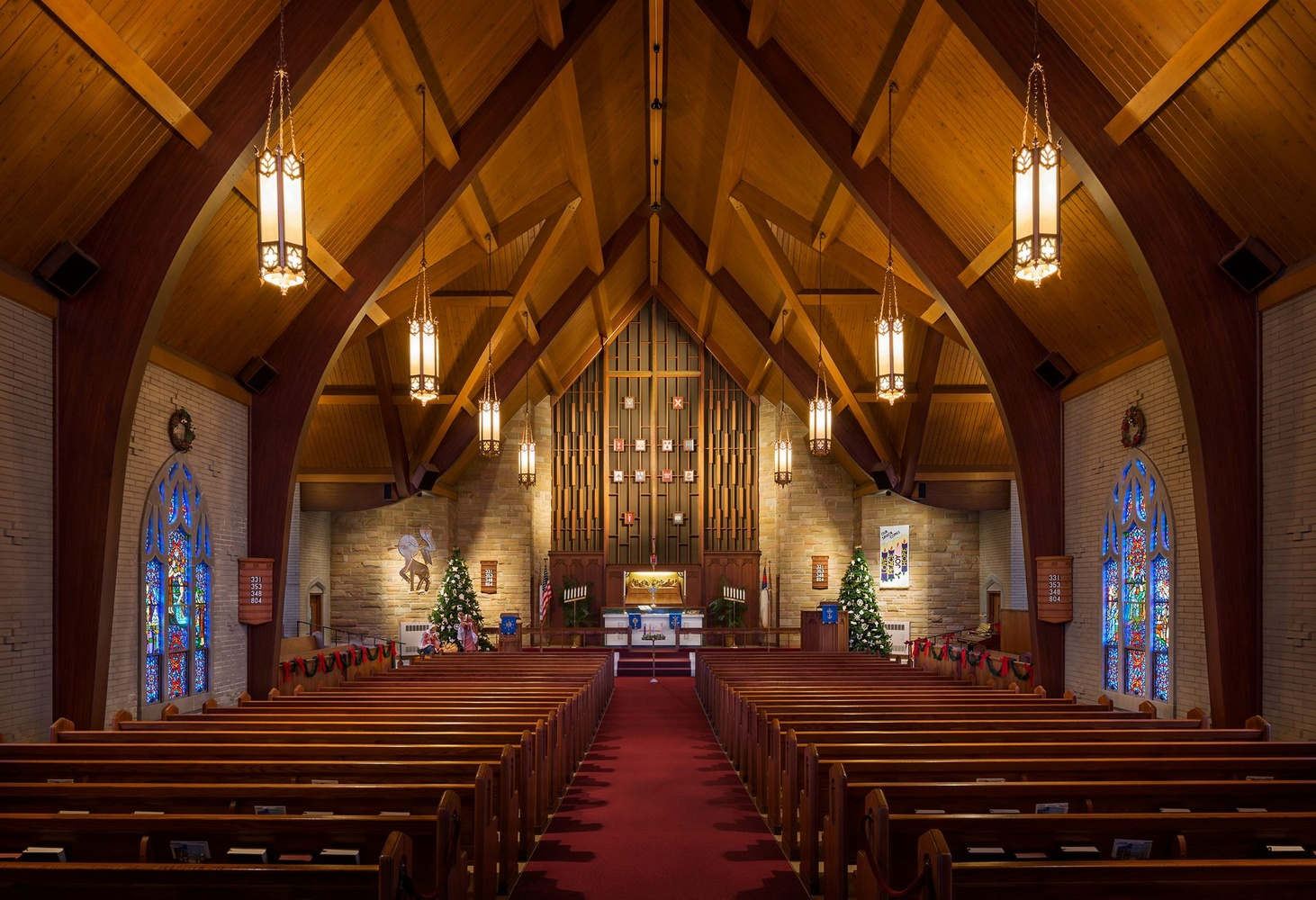 Zion Evangelical Lutheran Church by Vaclav Rus