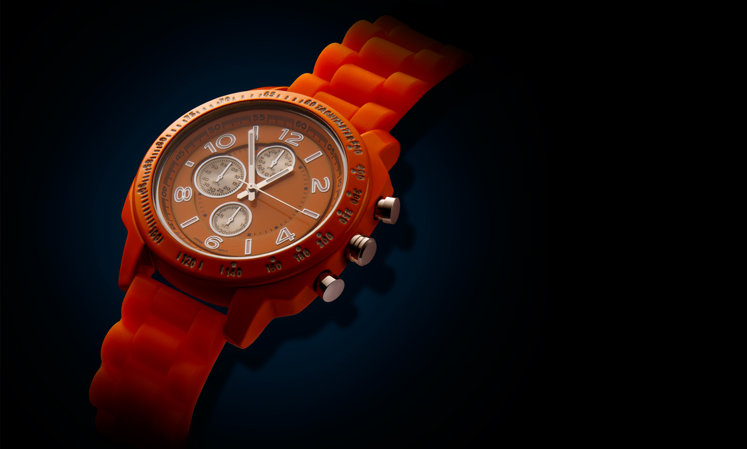 Orange Watch by Vaclav Rus