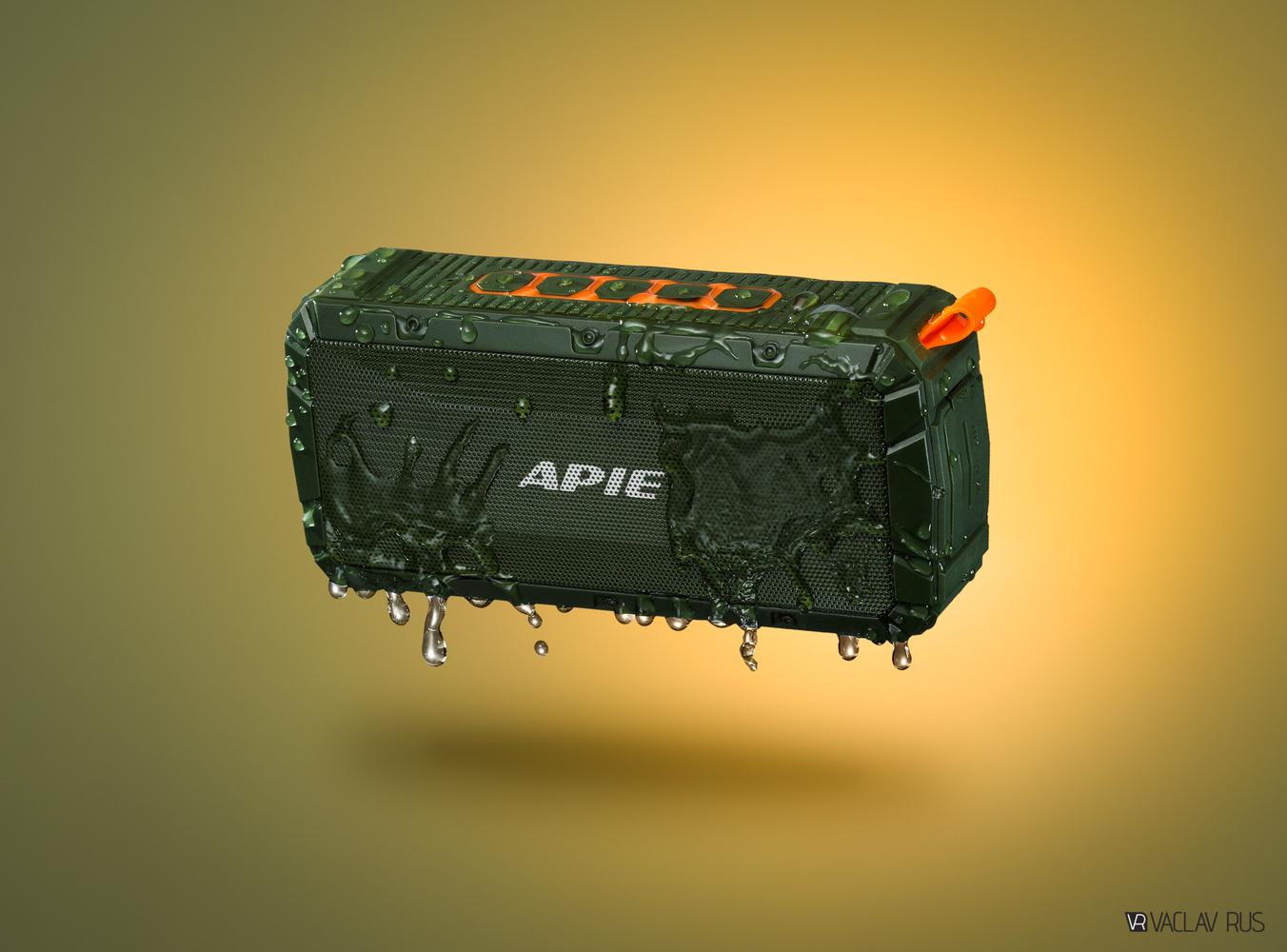 APIE Waterproof Bluetooth Speaker by Vaclav Rus