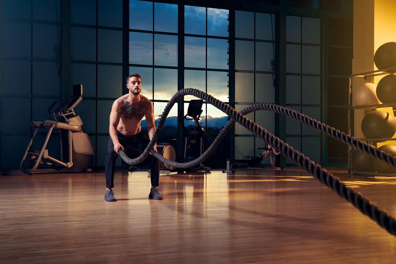 Marc • Battle Ropes by Derek Johnson