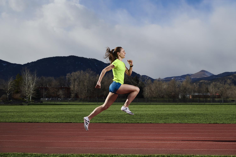 Jenny Simpson for Women's Running Magazine by Derek Johnson