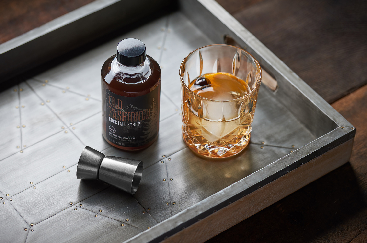 Strongwater Old Fashioned by Derek Johnson
