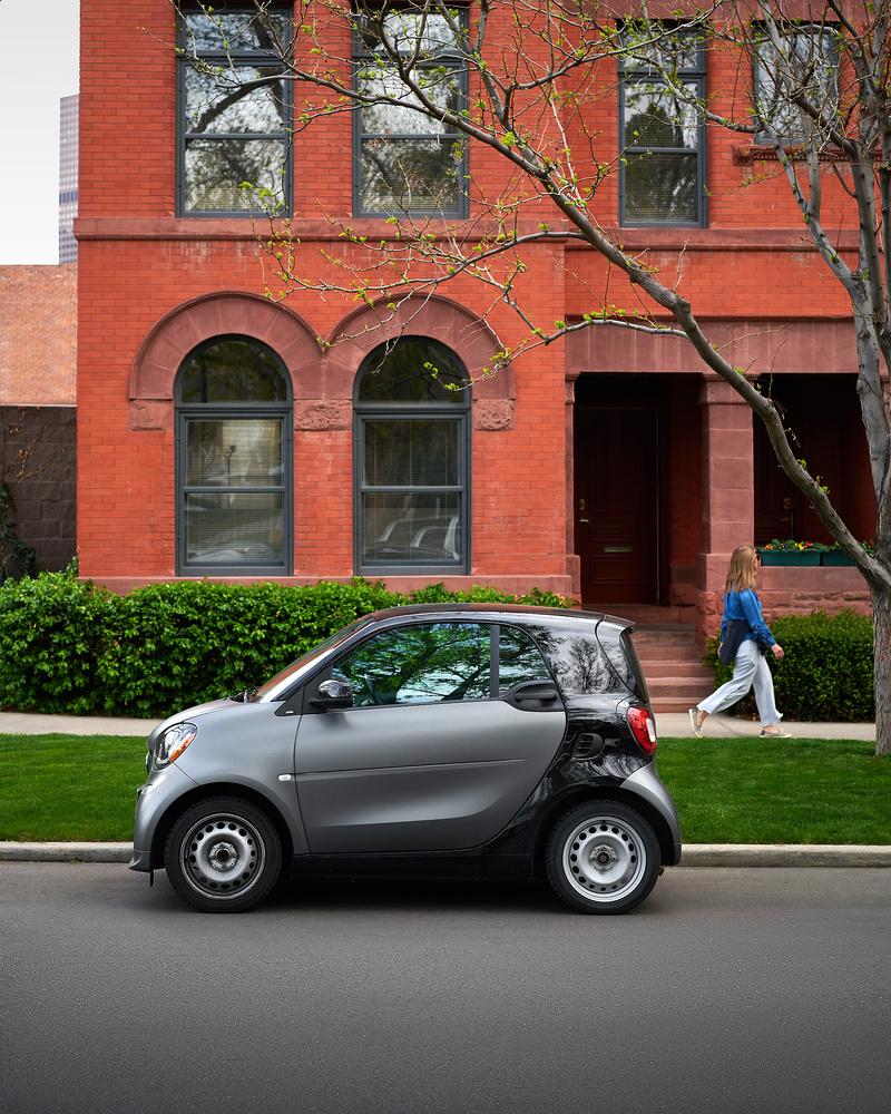 Smart car by Derek Johnson