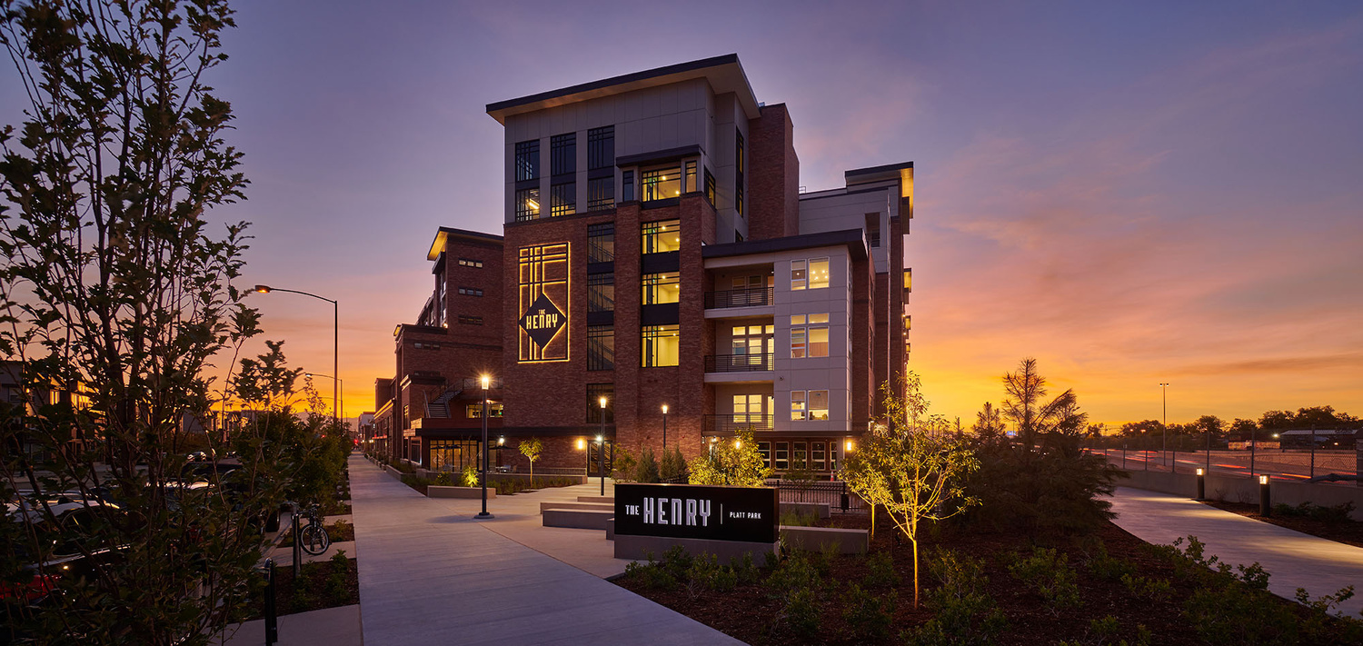 The Henry Apartment Complex by Derek Johnson