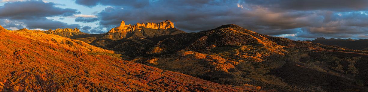 Chimney Rock Sunset by John Freeman