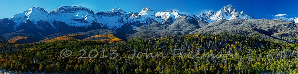 Mt. Sneffels Sunrise by John Freeman