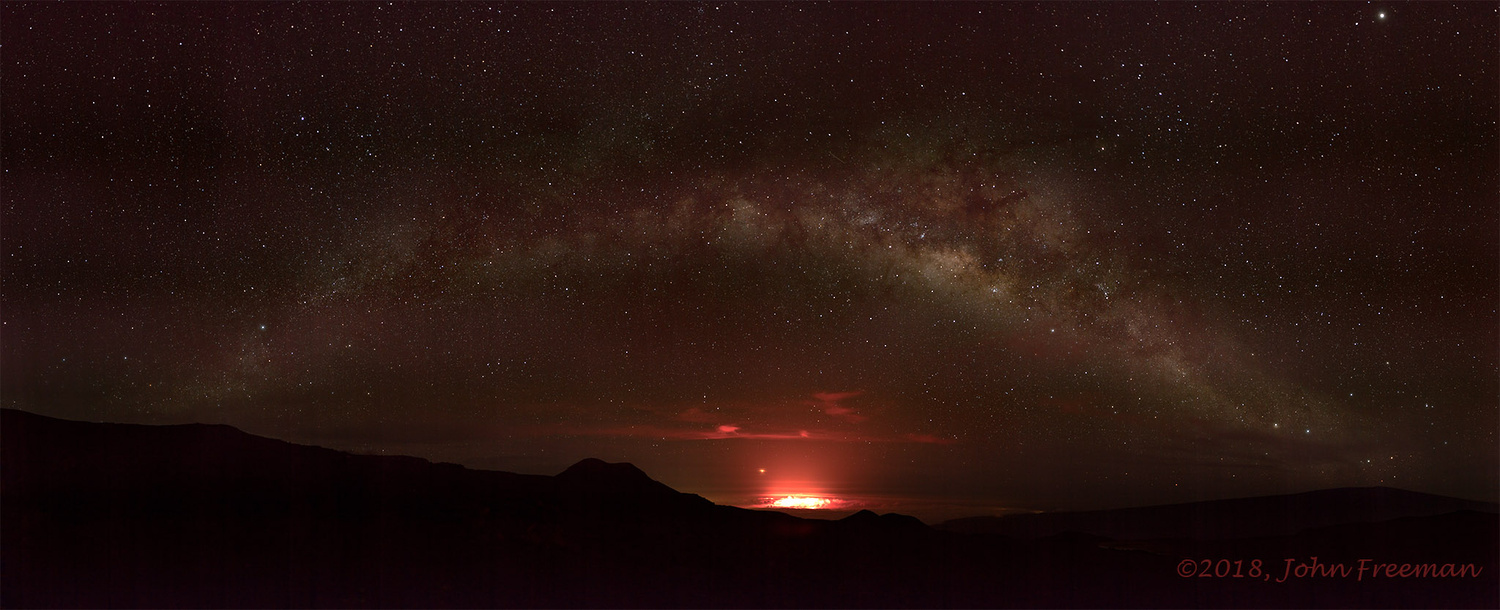 Mars Rising Out of the Fire by John Freeman