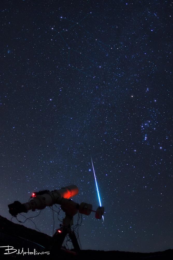 Starwars Geminid Bolide  by Bill Metallinos
