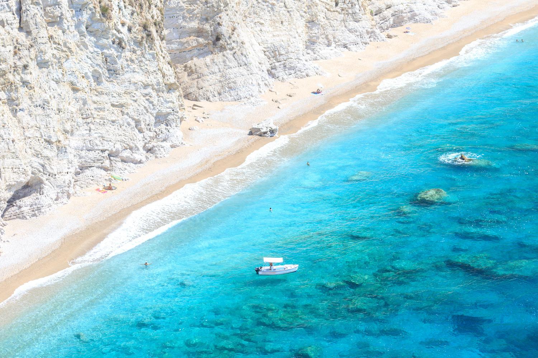 Chomi beach, Corfu by Bill Metallinos