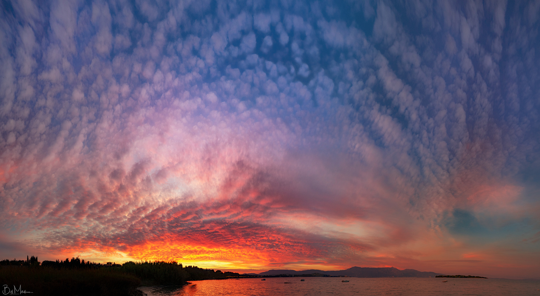 Altocumulus <3 Sunset by Bill Metallinos