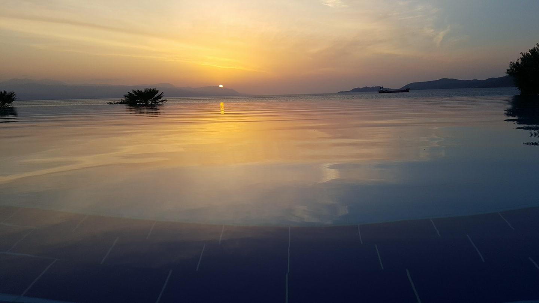 Greece Sunset by joel penland
