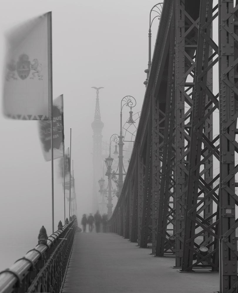 A Foggy day in Budapest by Gabor Szarvas
