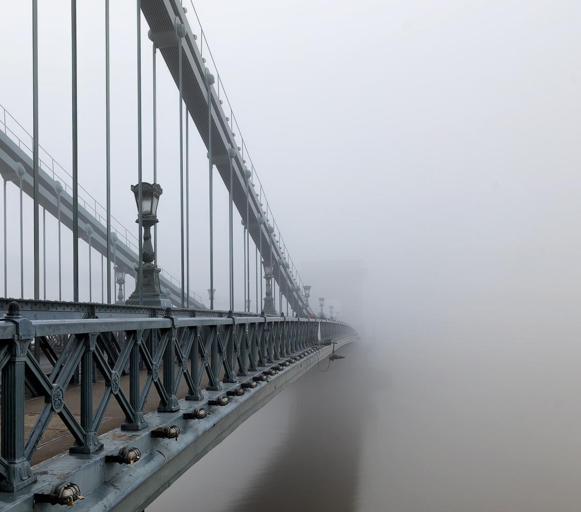Bridge to nowhere by Gabor Szarvas