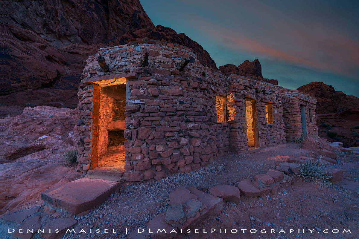The Cabins by Dennis Maisel