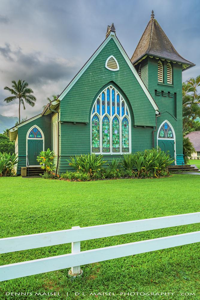 Waioli Huia Church by Dennis Maisel