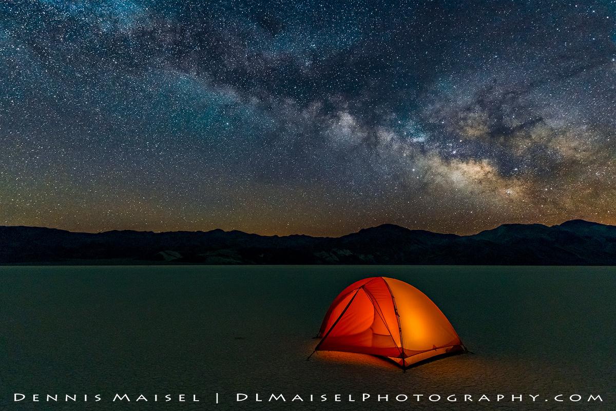 Sleeping Under The Stars by Dennis Maisel